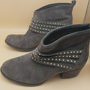 Jessica Simpson Ankle Boots 6.5 Worn Boots